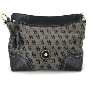 DOONEY & BOURKE Black Signature DB Logo Purse